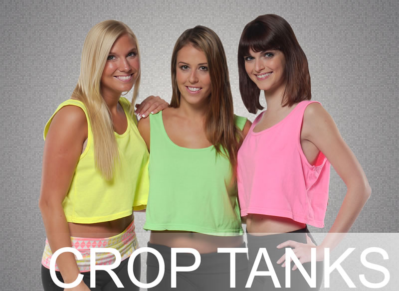 NeonTees Crop Tanks